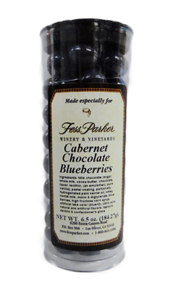 Cabernet Chocolate Blueberries Image