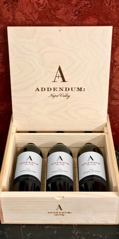 2015 Addendum Skellenger Cabernet 3-Bottle Wood Box Set