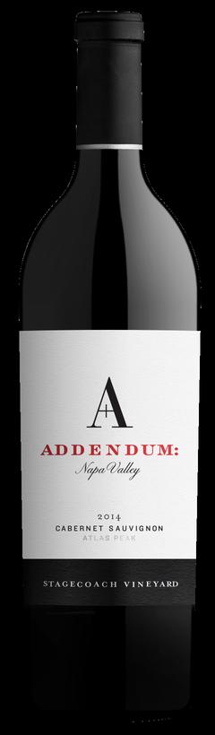 2014 Addendum- Stagecoach Cabernet Sauvignon
