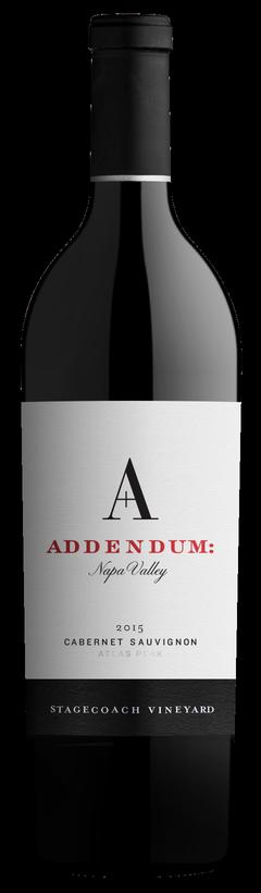 2015 Addendum Stagecoach Vineyard Cabernet Sauvignon Image