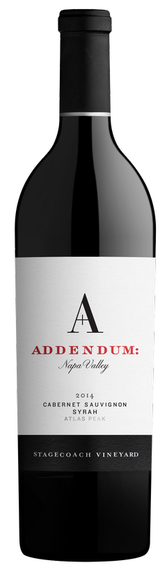 2014 Addendum- Stagecoach Cabernet Sauvignon-Syrah