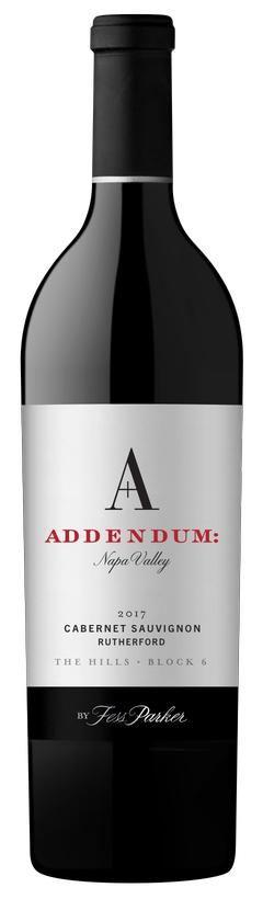 2017 Addendum The Hills - Block 6 Cabernet Sauvignon
