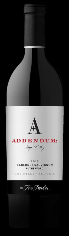 2017 Addendum The Hills - Block 6 Cabernet Sauvignon