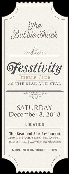 2018 Bubble Club Tasting - Sat, Dec 8 Image