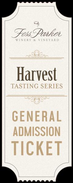 2019 Harvest Tasting Series- Friday, September 13th- Guest