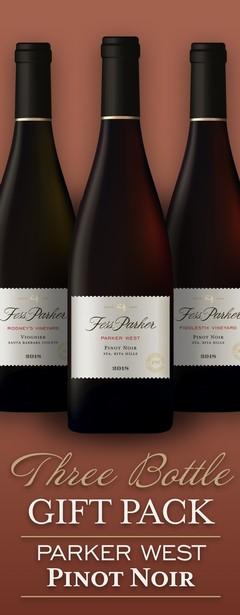 Parker West Pinot Noir gift pack