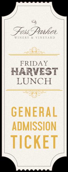 2017 Harvest Lunch - Sep22 - Gen. Admission