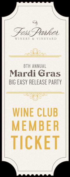 2018 Mardi Gras Big Easy Release Party - Wine Club