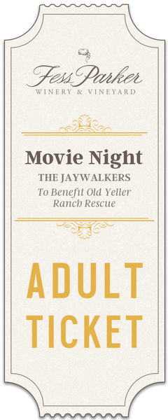 2018 Movie Night - Adult Ticket