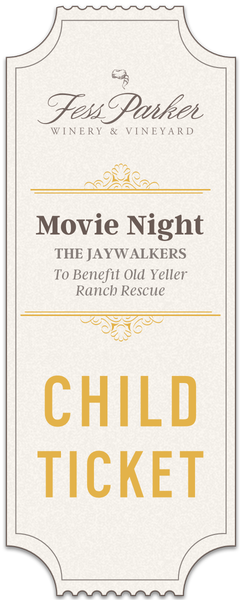 2018 Movie Night - Child Ticket