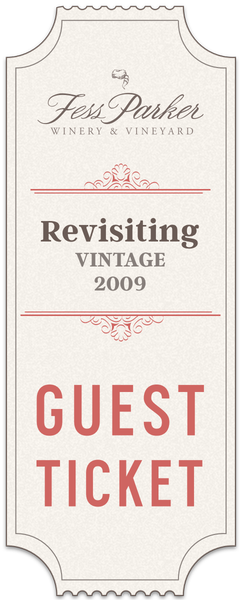 2017 Revisiting Vintage 2009 Tasting Event - Guest