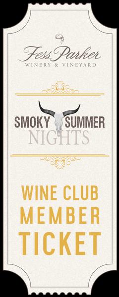 2017 Smoky Summer Nights - Wine Club