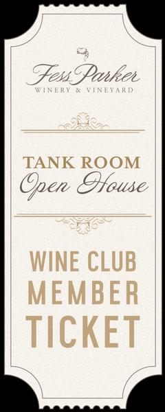 Tank Room Open House - Sun. Ticket