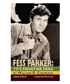 Fess Parker Book: TV's Frontier Hero Image