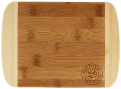 Bamboo Bar Board- Two Tone Image