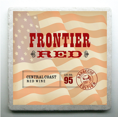 Coaster; Frontier Red Label