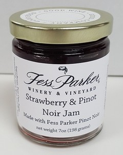 Strawberry & Pinot Noir Jam