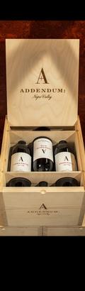 Addendum, 2014 Cabernet Sauvignon Six Bottle Collector's Set