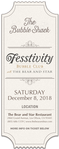 2018 Bubble Club Tasting - Sat, Dec 8