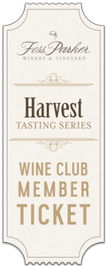 2019 Harvest Tasting Series- Friday, September 13th- Wine Club