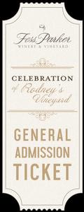 2019 A Celebration of Rodney's Vineyard- Guest Ticket