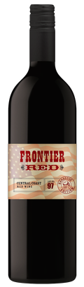 Frontier Red Lot 97- Flag Label Image
