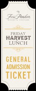 2017 Harvest Lunch - Oct27 - Gen. Admission