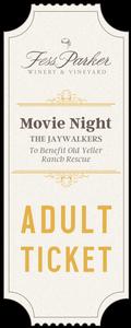 2018 Movie Night - Adult Ticket