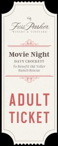 2017 Movie Night - Adult Ticket