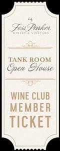 Tank Room Open House - Sat. Ticket