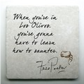 Coaster; Fess Parker Quote