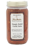 Simply Zinful Garlic Salsa