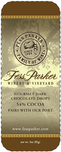 Chocolate Wine Pairing Tins- 54% Cocoa Image