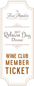 2017 Saturday Release Day Dinner