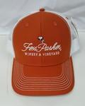 Baseball Cap; Fess Parker- Vintage Rust