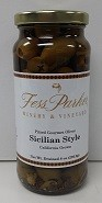 Sicilian Style Gourmet Green Olives
